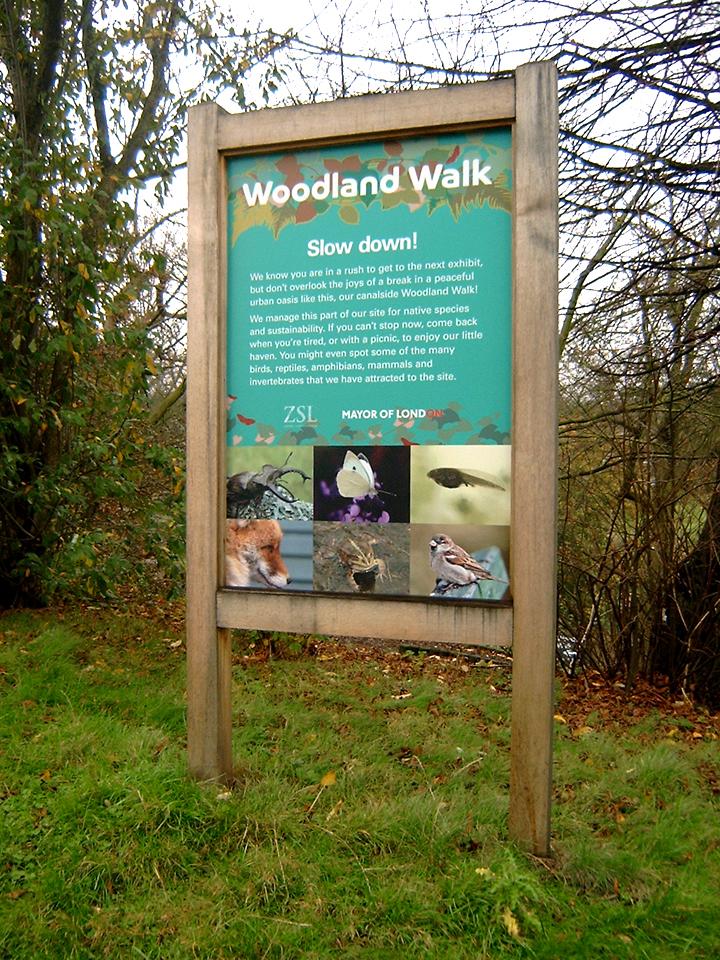 London Zoo Woodland Walk