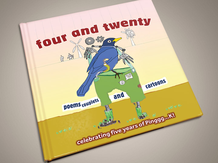 Pinggg...K1 Four and Twenty cover